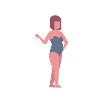 Costume da bagno donna bikini point hand grigio