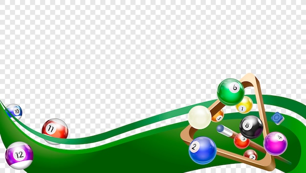Billiard wave green
