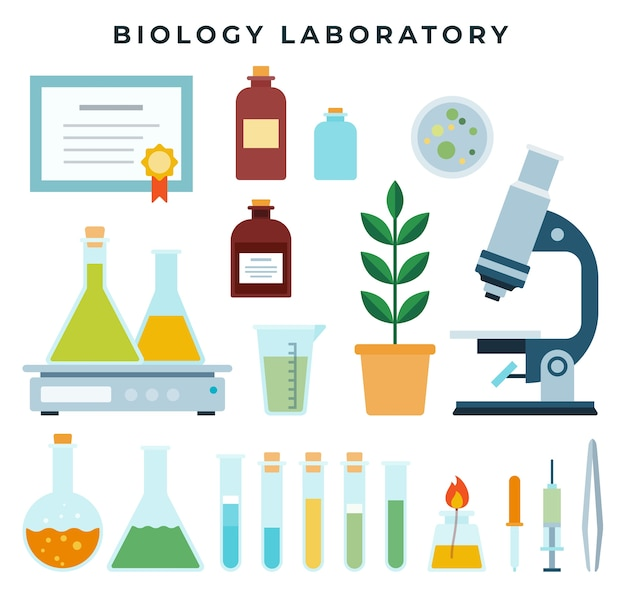 Ricerca biologica o attrezzatura da laboratorio didattico