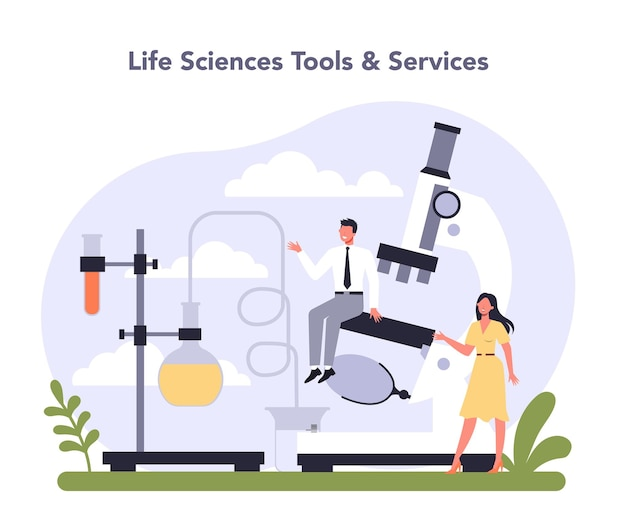 Settore dell'industria delle biotecnologie dell'economia prodotti sanitari