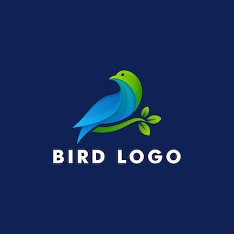 Bird logo design, animale icona simbolo illustrazione