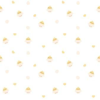 Uccello seamless pattern di sfondo