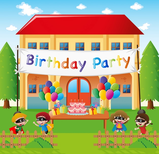 Festa di compleanno a casa