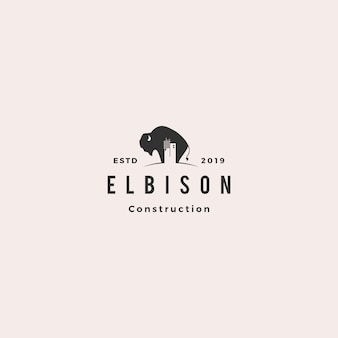 Bison costruzione logo