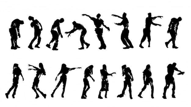 Set di zombi morsi