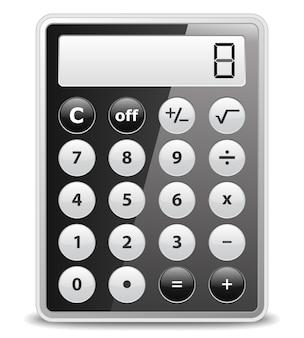 Calcolatrice nera