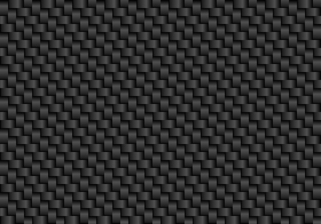Fondo senza cuciture in fibra di carbonio nero