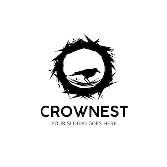 Logo del corvo nero