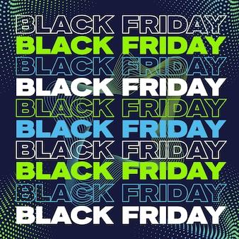 Manifesto del banner del venerdì nero o modello flayer