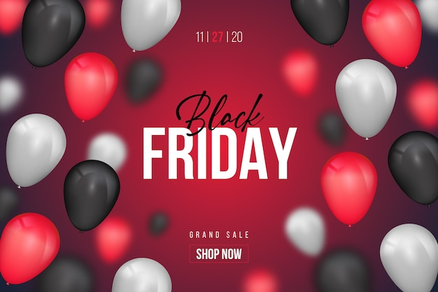 Modello di banner venerdì nero design