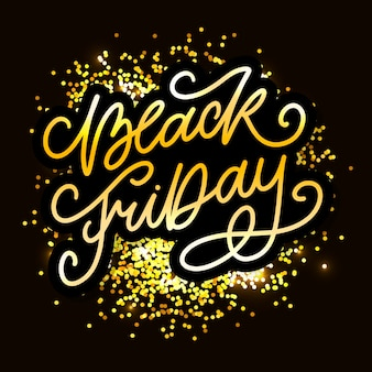 Black friday calligraphic designs retro style elements vendita di ornamenti vintage, lettere di liquidazione