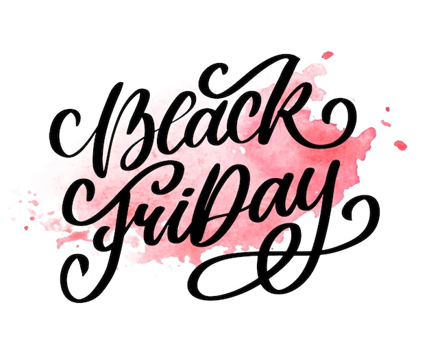 Black friday calligraphic designs retro style elements vintage ornaments sale