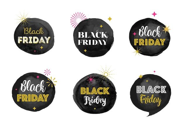Venerdì nero, banner di vendita di natale, modello di poster