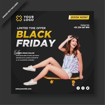 Black friday instagram e post sui social media