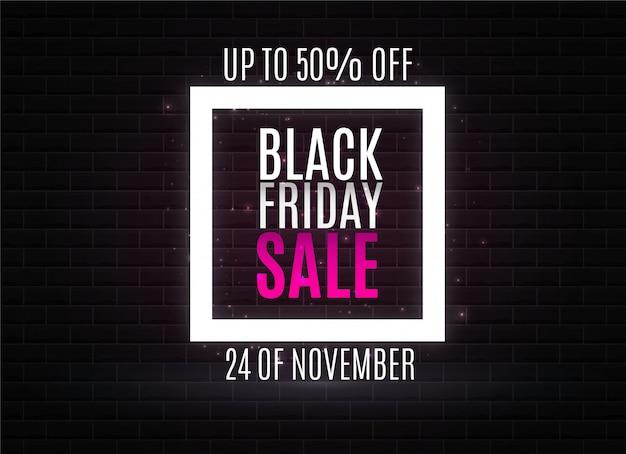 Fondo astratto di vendita di black friday. striscioni. bellissimo venerdì nero. vendite pubblicitarie nei negozi e sul sito.