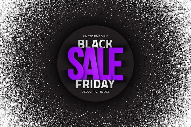 Priorità bassa dell'estratto di vendita di black friday