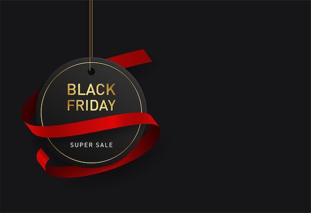 Venerdì nero vendita sfondo.