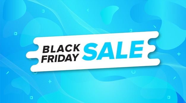 Banner di vendita del black friday