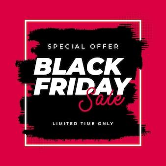 Modello di banner vendita venerdì nero