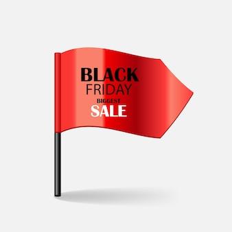 Illustrazione di vettore dell'icona di vendita del black friday. eps10