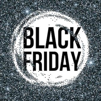 Priorità bassa dell'iscrizione di vendita venerdì nero. modello per il tuo design, invito, volantino, biglietto, regalo, buono, certificato e poster. illustrazione vettoriale eps10