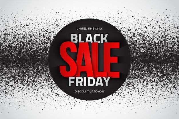 Fondo astratto di lerciume moderno di vendita di black friday
