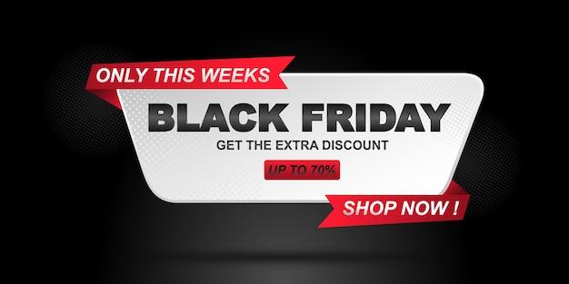 Offerte speciali e sconti per la vendita del black friday