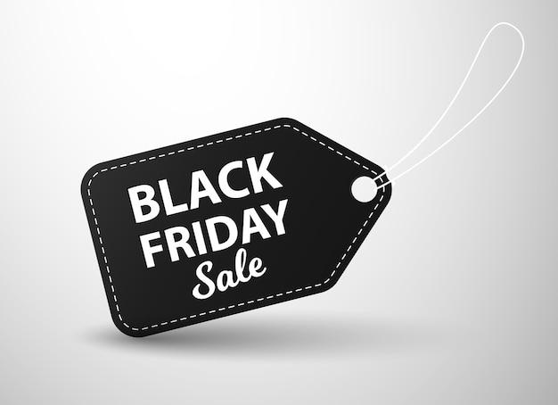 Etichetta di vendita del venerdì nero. adesivi prezzo venerdì nero. promozione, sconto e sconto su banner o badge.
