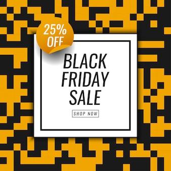 Disegno del modello di vendita venerdì nero