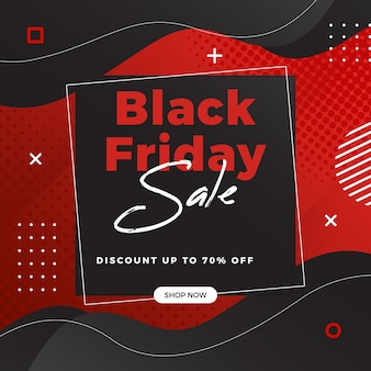 Modello di vendita del black friday