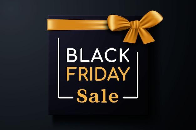 Vendita venerdì nero con confezione regalo