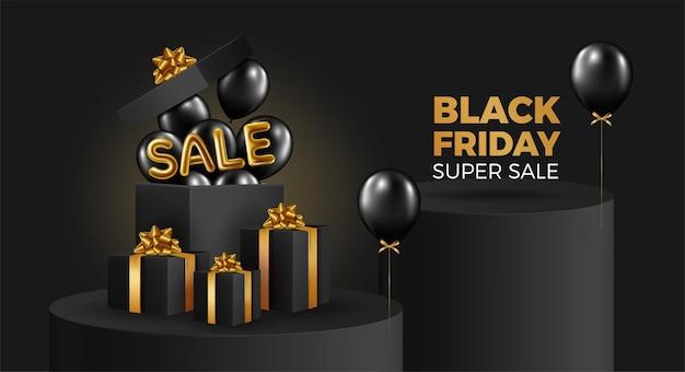Banner del black friday super sale