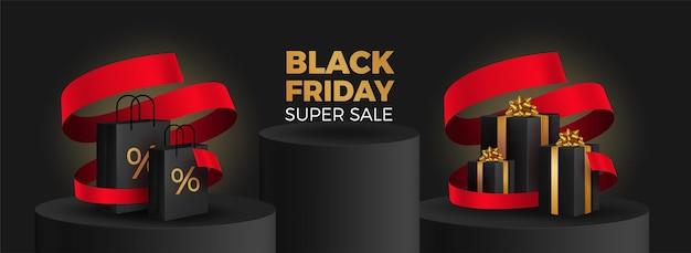 Super vendita del black friday.