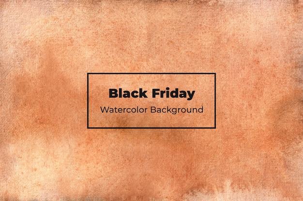 Priorità bassa dell'acquerello del venerdì nero
