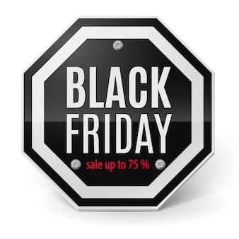 Venerdì nero Vettore Premium