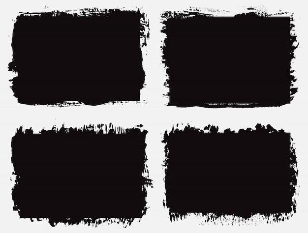 Set nero grunge