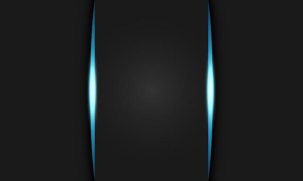 Striscia nera con sfondo di linea blu chiaro illustrazione vettoriale
