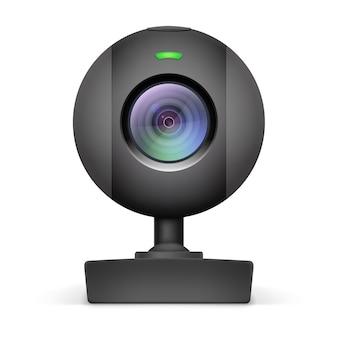 Icona webcam nera