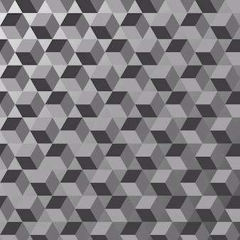 Trama di sfondo triangolo bianco e nero