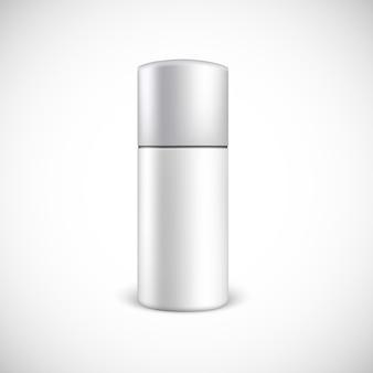 Bottiglia in bianco dei cosmetici con lo spazio della copia.