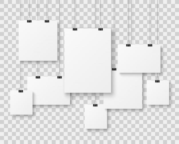 Galleria di foto in bianco