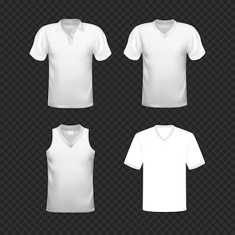 Modello in bianco della maglietta
