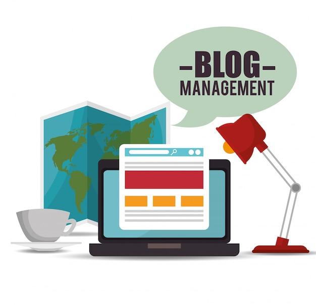 Progettazione della gestione del blog