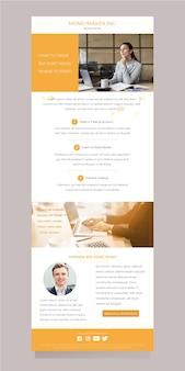 Modello di email di blogger