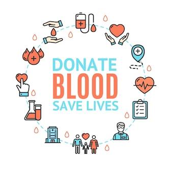 La donazione di sangue salva vite