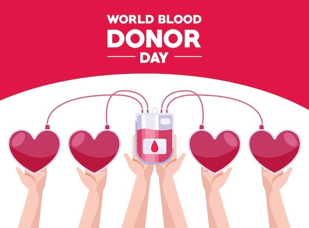 Tessera giornaliera del donatore di sangue