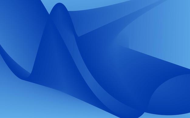 Illustrazione vettoriale di sfondo blu abstrack per desktop