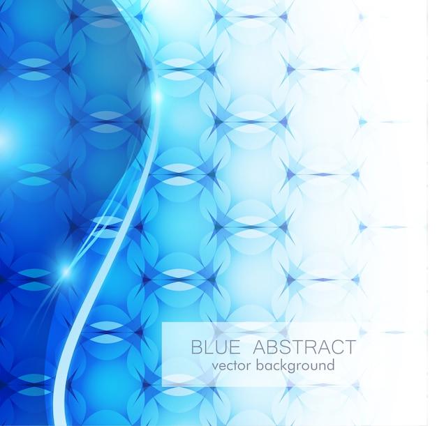 Sfondo blu abstrack