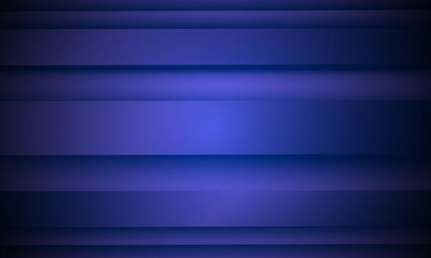 Sfondo astratto blu. coprire con strisce dritte. il modello per annunci, opuscoli, volantini. illustrazione vettoriale. ciechi per finestra. onde del mare.