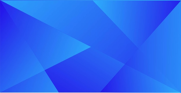 Sfondo dinamico di geometria astratta blu